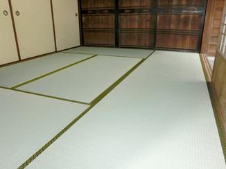 内装リフォーム 下地補強し畳も一新したイ草の香り豊かな和室