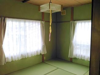 内装リフォーム 内装材を一新し美しく生まれ変わった和室