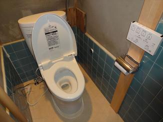 トイレリフォーム 必要最低限のリフォームで掃除のしやすい洋式トイレに