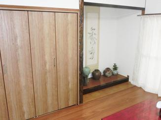 内装リフォーム 和室の良さを残した洋風リフォーム