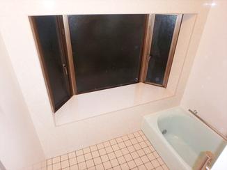 バスルームリフォーム 増築せずにユニットバス風の在来風呂